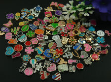 100PCS mix floating charm fit Origami owl living memory locket accessories #3