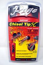 Rage Chisel Tip Sc Triple Blade Mechanical 100 Grain Broadheads - Free Shipping!