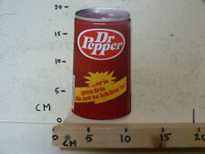 STICKER,DECAL DR PEPPER ER IS GEEN FRIS DIE NIET ZO LEKKER IS LARGE VINTAGE ? ST