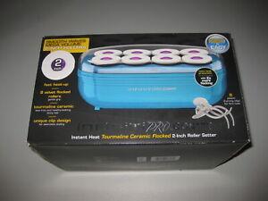 Conair Infiniti PRO Smooth Waves Mega Volume 2-inch Roller Hair Setter - Blue