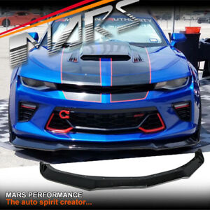 MP Style Front Bumper Bar Lip Spoiler for Chevrolet Camaro 2SS 2016-20 Bodykits