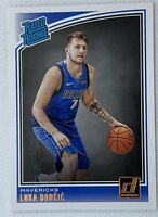 2018-19 Donruss Rated Rookie Luka Doncic #177 RC ROOKIE CARD - MAVS - PSA READY