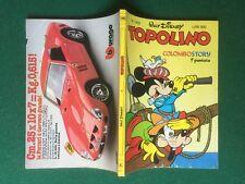 Disney TOPOLINO Libretto n.1452 del 25/9/1983 INSERTO SCUOLA FERRARI 250 GTO