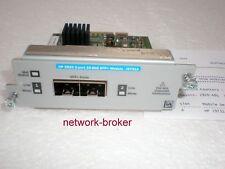 HP / Aruba  J9731A 2920 2-Port 10GbE SFP+ Module mit Funktionsprotokoll