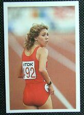 1 x card BBC Question of Sport 1986 Mary Decker USA Athlete