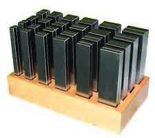 Paralelamente documentación - 48 par de manera mecanizada fräsunterlagen-longitud 125-nuevo