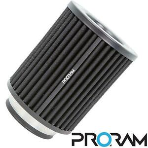 PRORAM Performance Universal Induction Cone Air Filter Intake 120mm - 63mm ID