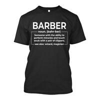 Barber Wizard Magician New Mens Shirt Short Sleeves Super Classic Casual Top Tee