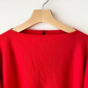 Daniela Gregis Pullover Size Free Red Sweater Knit Ladies simple Used