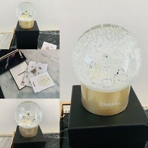 Chanel Snow Globe Vip Gift Brand New VIP Gift And Camellia Bookmark