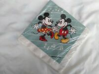 Vintage Dancing Mickey Minnie Napkins Party Supply Walt Disney Productions