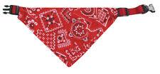Hundehalsband Karlie - Halsband + Halstuch 35 - 50 cm 20 mm rot