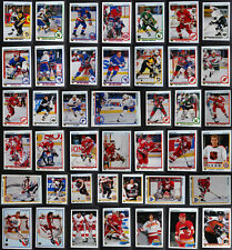 1990-91 Upper Deck High Series Hockey Cards Complete Your Set You U Pick 401-550