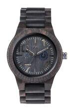 Orologio in legno - WeWood Oblivio Black Blue 70332309