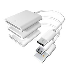 Sd card reader, Sd Card Female to Type-C, Micro / V8 Usb, Usb - A Male Adapter