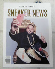SNEAKER NEWS Volume Three DJ KHALED NIKE Air Jordan KICKS VINTAGE Shoe Book NSW