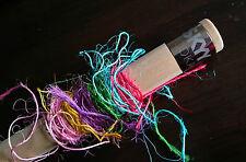 5m x Multi-Colour Silly Sisal String - Pet Rabbit Guinea Pig Bird Toy Twine Cord
