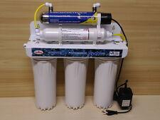 DEPURATORE ACQUA - MICROFILTRAZIONE 5 STADI CON LAMPADA UV MODELLO 500 K MF PLUS