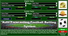 Auto Forecasting Football Betting System