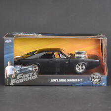 Jada 1:24 FAST & FURIOUS F8 Dom's Dodge Charger R/T Diecast Model Racing Car NIB