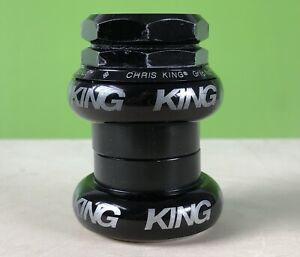 CHRIS KING GripNut Threaded Headset 1inch Black -good condition