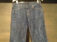Citizens of Humanity WOMENS JEANS SIZE 30 LOW WAIST BOOT CUT KELLY #001 STRETCH