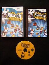 Jeu Nintendo Wii Rayman Contre Les Lapins Crétins FRA Complet