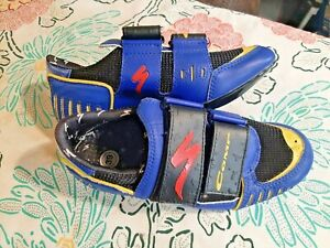 Vintage SPECIALIZED Men's Size 7/39 Road Cycling Shoes 610-0439 - EUC!