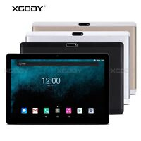 10.1'' Android 7.0 Tablet PC 4G LTE Octa Core Dual SIM 32GB 2GB IPS FHD XGODY