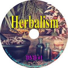 232 Books DVD, Herbs Herbalism Herbal Remedies Medicinal Natural Botany How to