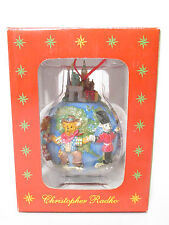 Teddies Around The World Christopher Radko Ornament Nib