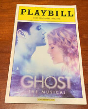 GHOST The Musical - Broadway Playbill - March 2012! Cassie Levy +! FREE US SHIP