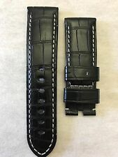 Panerai Black Alligator Watch Strap 24x22mm**Original**