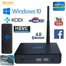 Measy T8B Intel X-Z8300 Quad Core 4G 64G Windows 10 TV Box Mini PC RC7 Air Mouse