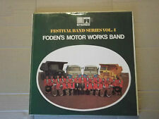 FODEN'S MOTOR WORKS BAND - FESTIVAL BAND SERIES No 4 LP