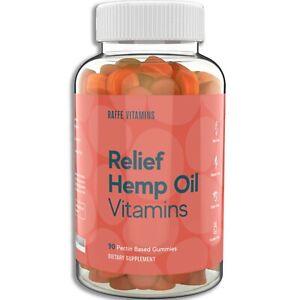 Raffe Vitamins - Relief Hemp Oil Gummy Multivitamin 90ct
