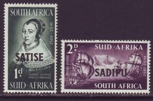 South Africa 1952 SC 195-197 MH Set Tercentenary Stamp Exhibition