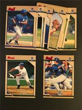 1996 Bowman Kansas City Royals Team Set 12 Cards Mike Sweeney RC