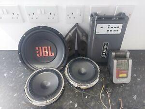 HERTZ HDP4 and JBL Sub audison speakers + tweeters