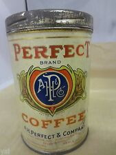 VINTAGE ADVERTISING PERFECT BRAND COFFEE COLLECTIBLE 255-W