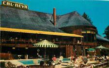 Cal-Neva California Nevada Boundary Lake Tahoe Resorts 1962 Clements Pool 6785