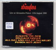 The Stranglers Maxi-CD Live At Alexandra Palace 11th August 1990 - 4-track CD