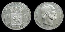 Netherlands - 2½ Gulden 1874 Zeer Fraai+