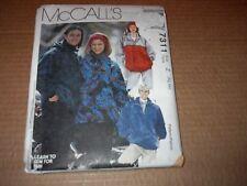 Mccalls señoras Para Hombre /& adolescentes patrón de costura 4139 Cape trajes Mccal..
