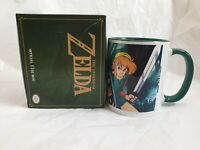 NEW Legend Of ZELDA wrap around Coffee Mug Cup Boxed novelty gift