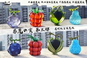 Demon Studio One Piece Devil Fruit Resin Painted Figure Model Toys Display N