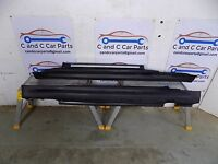Mini R56  Genuine Cooper S Side Skirts Pre Facelift in Black