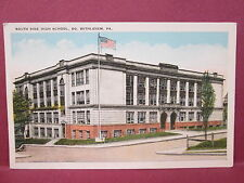 Postcard PA South Bethlehem South Side High School
