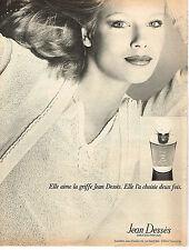PUBLICITE  1975   JEAN DESSES   parfum