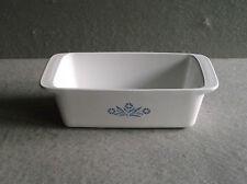 Corning Ware CORNFLOWER LOAF PAN P-315-B 2 Quart Bake Ware Vintage 1960s